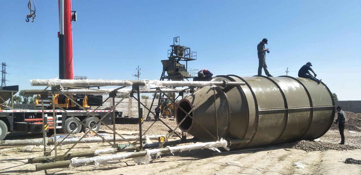 chế tạo silo xi măng